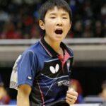 張本智和の両親は中国人?身長や中学校やかわいい画像もチェック!