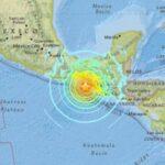 チアパス州沖(メキシコ地震震源地の)場所はどこ?被害状況も!