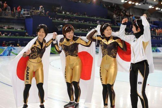 スケート女子団体パシュート日本代表のタイムは?世界記録やメンバーも!